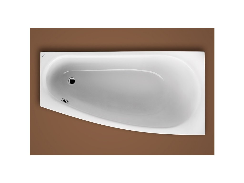 Santech Ariela 150 x 80 cm SAARI150P vana asymetrická akrylátová pravá + ZDARMA DOPRAVA