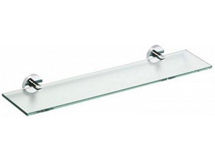 Sapho X-STEEL 104102045 polička skleněná 60 cm nerez