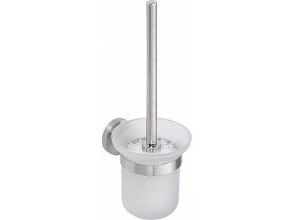 Sapho X-STEEL 104113015 WC štětka nástěnná nerez