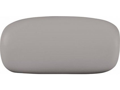 Polysan OLA podhlavník do vany 250012 stříbrný