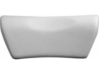 Polysan SPACE podhlavník do vany 35 x 15 cm 250092 stříbrný