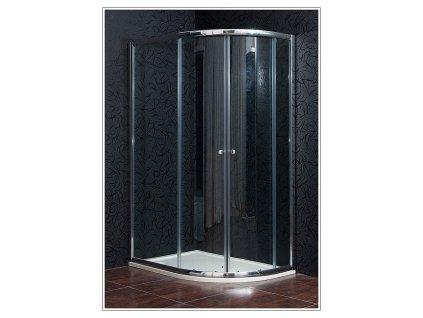 Arttec Klasik PAN00863 sprchový kout čtvrtkruhový 80 x 120 cm