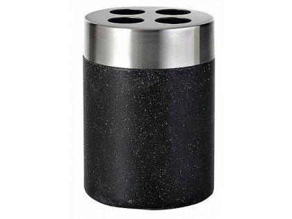 Sapho Stone 22010210 držák kartáčků na postavení černý