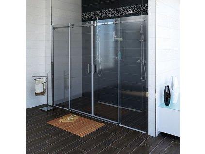 Gelco Dragon GD4870 sprchové dveře 170 x 200 cm čiré sklo