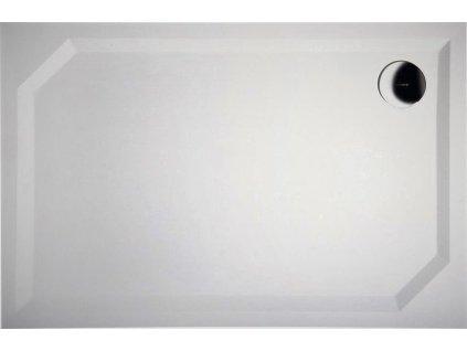 Gelco Sara HS8090 sprchová vanička 80 x 90 x 4 cm litý mramor