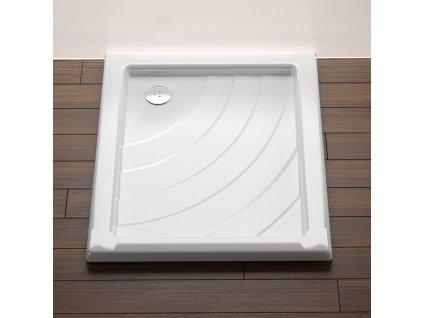 Ravak Aneta LA 75 x 90 cm Sprchová vanička obdélníková akrylátová