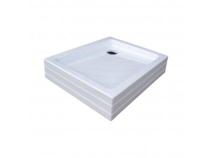 Ravak Aneta PU 75 x 90 cm Sprchová vanička obdélníková akrylátová