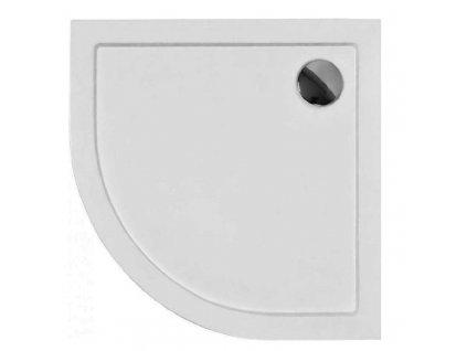 Olsen Spa Aron 80 x 80 cm sprchová vanička akrylátová čtvrtkruhová