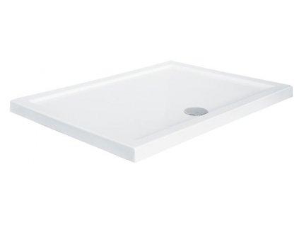 Olsen Spa Alpina 100 x 80 cm sprchová vanička akrylátová obdélníková