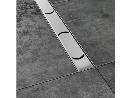 Ravak  Chrome 950 mm odtokový žlab nerezový X01428