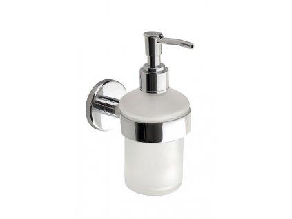 Aqualine Samba SB119 dávkovač mýdla mléčné sklo