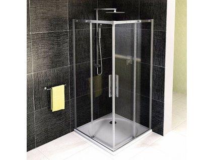 Polysan Altis Line 100 x 100 cm sprchový kout / zástěna čtvercová AL1715