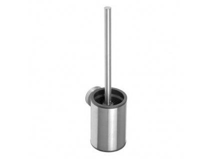 Sapho X-Steel XS305 WC štětka malá černý kartáč nerez mat