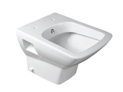 Aqualine Seluzione 10SZ02002 DL WC mísa závěsná s bidetovou sprškou