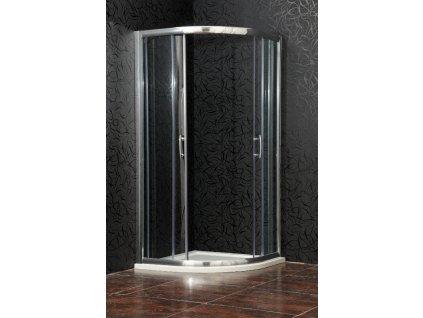 Arttec BRILIANT 80 x 80 cm PAN00952 sprchový kout s vaničkou