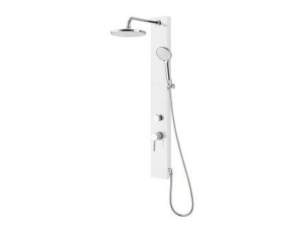 Aqualine Figa SL230 sprchový panel 105 x 12,5 cm bílý