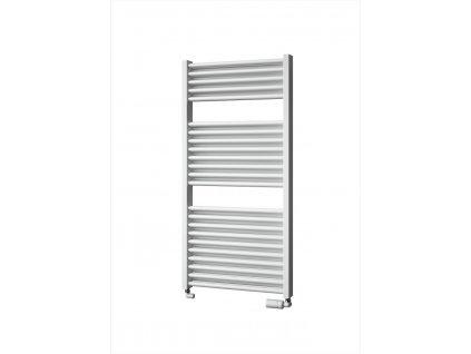 Isan Duo 1230 x 600 mm koupelnový radiátor bílý