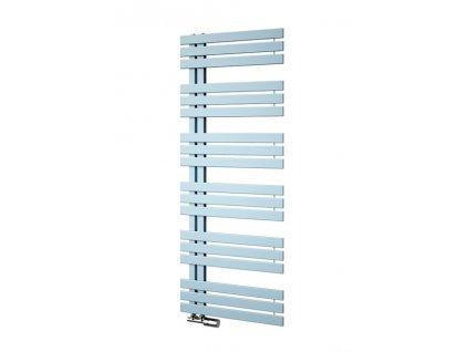 Isan Miro 1236 x 500 mm koupelnový radiátor bílý