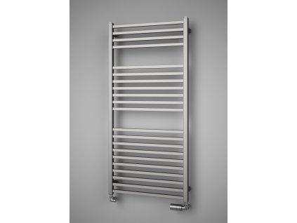 Isan Quadrat Inox 1255 x 600 mm koupelnový radiátor nerez