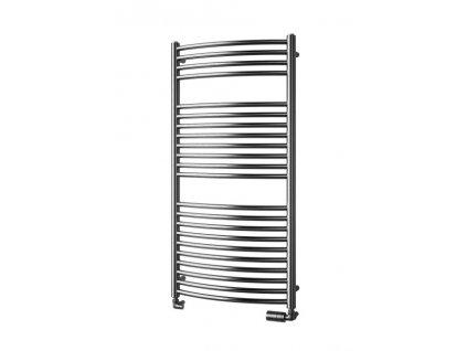 Isan Silla Radius Inox 1180 x 600 mm koupelnový radiátor nerez
