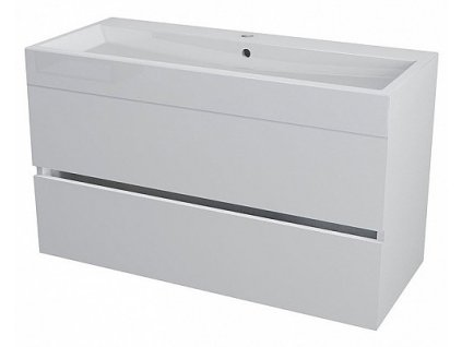 Sapho Largo LA101 umyvadlová skříňka 99 x 50 cm bílá