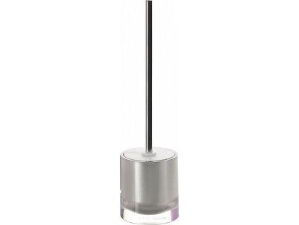 Sapho Vega VG3373 WC štětka na postavení stříbrná