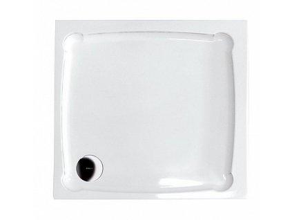 Gelco Diona GD009 sprchová vanička z litého mramoru 90 x 90 x 7,5 cm čtvercová