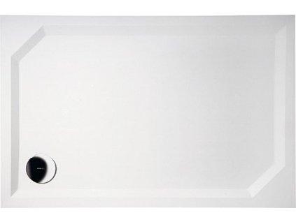 Gelco Sara HS11090 sprchová vanička 110 x 90 x 4 cm litý mramor