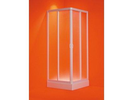 Olsen Spa ANGOLO 100 - 95 × 100 - 95 cm OLBVEL10EX sprchový kout polystyrol