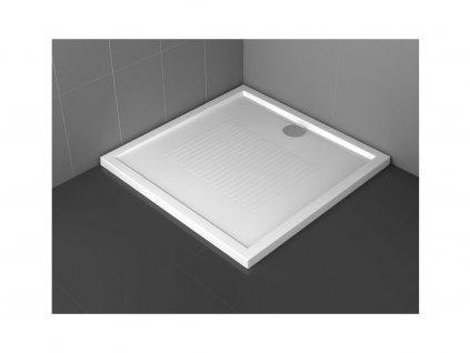 Santech NEW OLYMPIC 90 x 75 x 4,5 cm OLN90754-30 sprchová vanička