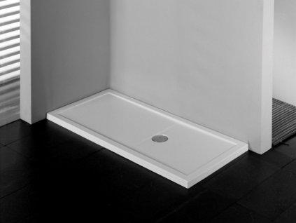 Santech Novellini Olympic plus sprchová vanička 120 x 100 cm obdélníková bílá