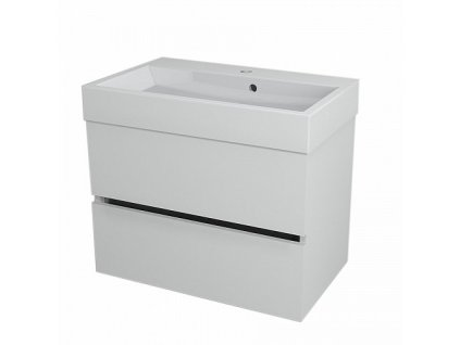 Sapho Largo LA701 umyvadlová skříňka 67 x 50 cm bílá