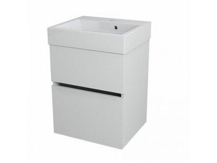 Sapho Largo LA501 umyvadlová skříňka 49 x 60 cm bílá