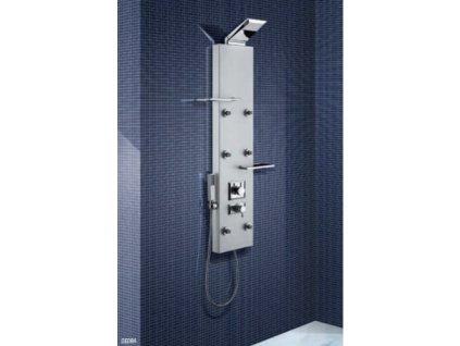 Sanjet DEDRA 120 cm DETN sprchový panel s termostatickou baterií