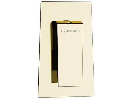 Sapho Morada MR41ZL sprchová podomítková baterie páková 1 výstup zlatá