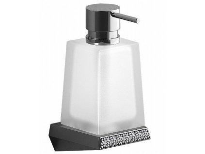 Sapho Soul Crystal 161935 dávkovač mýdla chrom
