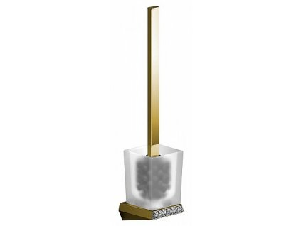 Sapho Soul Crystal 165070 WC štětka nástěnná zlato