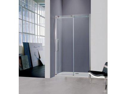 Hopa Belver sprchové dveře 120 x 195 cm do niky chrom / sklo čiré BCBELV12CC
