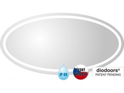 Hopa BEČVA 60 x 120 cm ZRBECV6012 zrcadlo s LED osvětlením