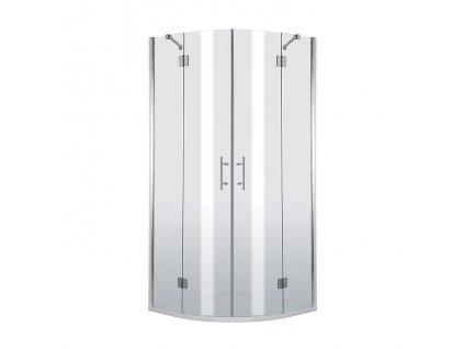 A-Interiéry Anaheim 053P sprchový kout 90 x 90 x 200 cm čtvrtkruh sklo čiré
