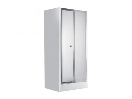 A-Interiéry Faenza 621D sprchové dveře do niky 90 x 185 cm skládací sklo mat