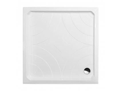 Roth COLA-P 800 čtvercová sprchová vanička 80 x 80 x 17 cm 8000022 akrylátová bílá