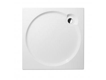 Roth Project Line ALOHA FLAT 800 čtvercová sprchová vanička 80 x 80 cm 8000282 akrylátová