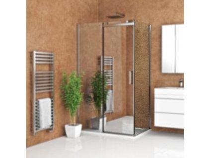Roth AMB/800 pevná boční stěna 80 x 200 cm 621-8000000-00-02 brillant / transparent