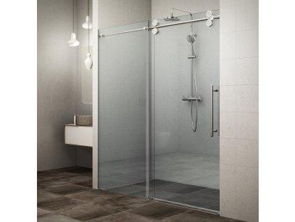 Rolltechnik KID2/2000 sprchové dveře 200 x 200 cm 970-2000000-00-02 brillant / transparent