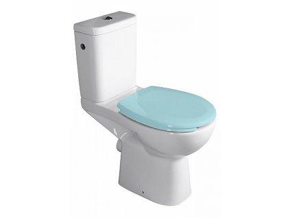 Sapho Etiuda K11-0221 WC kombi pro postižené CLEAN ON zadní odpad