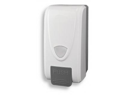 Novaservis 69083,1 zásobník na tekuté mýdlo 1000 ml bílý