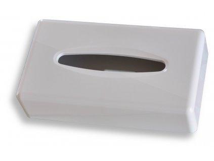 Novaservis 69087,1 zásobník na papírové kapesníky 25 x 14 cm bílý