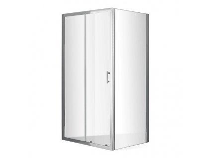 Roth Outlet OBD2 140 x 80 cm sprchový kout s OBB pevnou stěnou OBD2-140_OBB-80