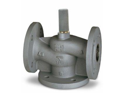 TA CV316 GG standardní regulační ventil 3-cestný DN40 kvs=20 šedá litina 60-335-140